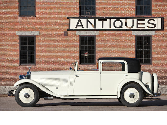 1932 Rolls-Royce Phantom II Sedanca de Ville  Chassis no. 79JS Engine no. CL65