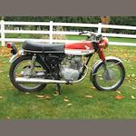 1970 Honda CB175 Frame no. CB1755000935 Engine no. CB175E500090