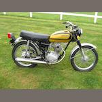 1972 Honda CB100 Frame no. CB1001211281 Engine no. CB100E1234798