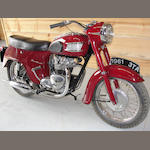 "1961 Triumph 3TA ""Bathtub"" Frame no. H25063 Engine no. 3TAH25063"