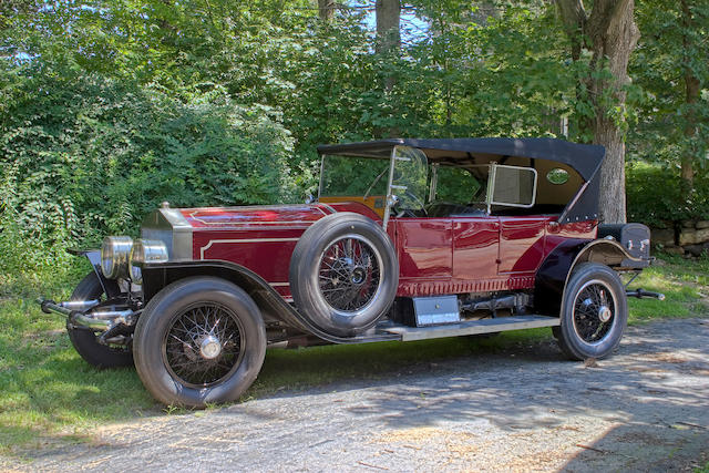 1926 Rolls-Royce 40/50hp Silver Ghost 'London-Edinburgh'-style Torpedo Tourer  Chassis no. S178ML Engine no. 20785
