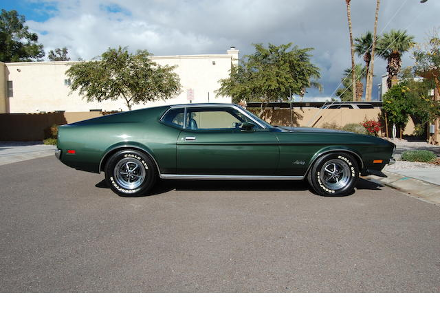 1971 Ford Mustang 429 SCJ Fastback  Chassis no. 1F02J170058