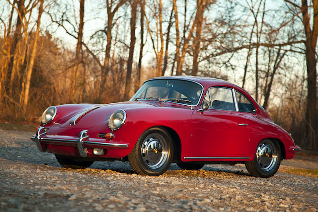 1964 Porsche 356SC Coupe/Sunroof  Chassis no. 219602 Engine no. 812818