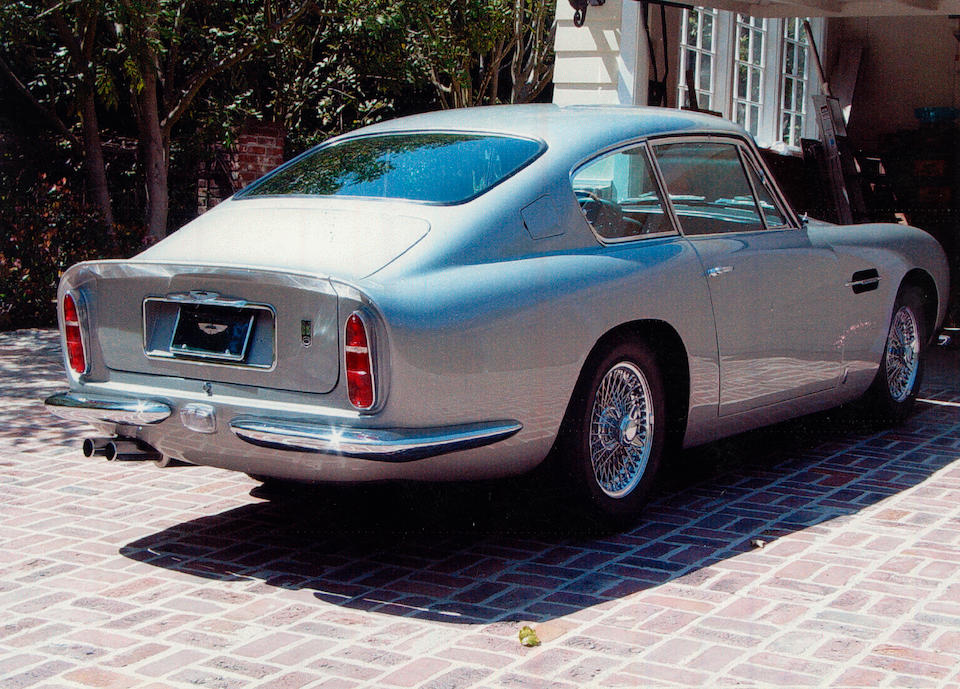 The Ex-Bing Crosby, fewer than 7,000 miles recorded,1966 Aston Martin DB6 Vantage Saloon  Chassis no. DB6/2389/L Engine no. 400-2474-V