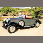 1933 Rolls-Royce 20/25 Drop Head Coupe  Chassis no. GGA 29 Engine no. A8P