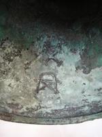 An archaic bronze wine vessel, Gu Shang dynasty