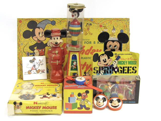 Disney Toy Ensemble