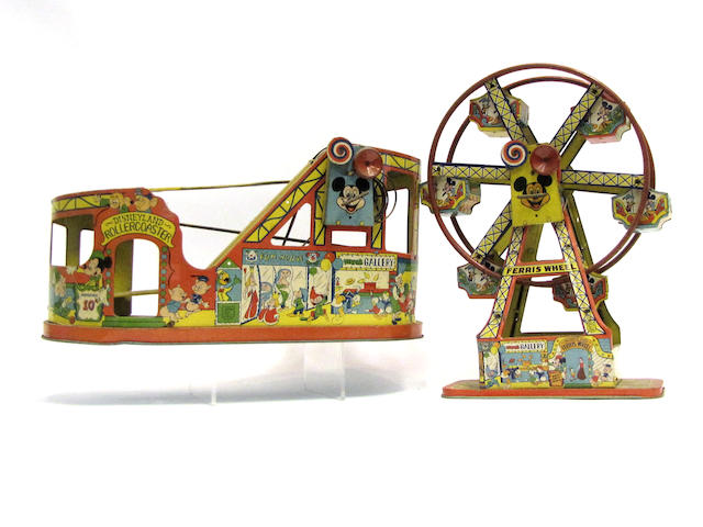 Disney Tin Clockwork Toys