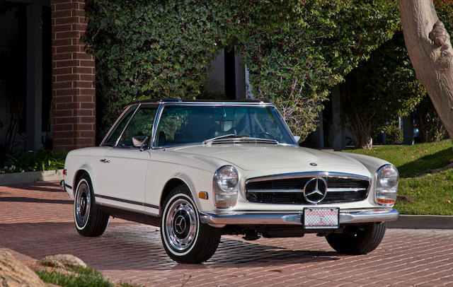 Manual transmission, former long term ownership,1969 Mercedes-Benz 280 SL Convertible with Hard Top