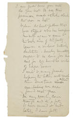 ROBERT FALCON SCOTT. Autograph Letter Signed, 4 pages, 8vo, March 16, 1912, to Edgar Speyer