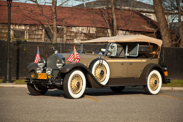 1929 Packard 640 Super Eight Touring  Chassis no. 177660