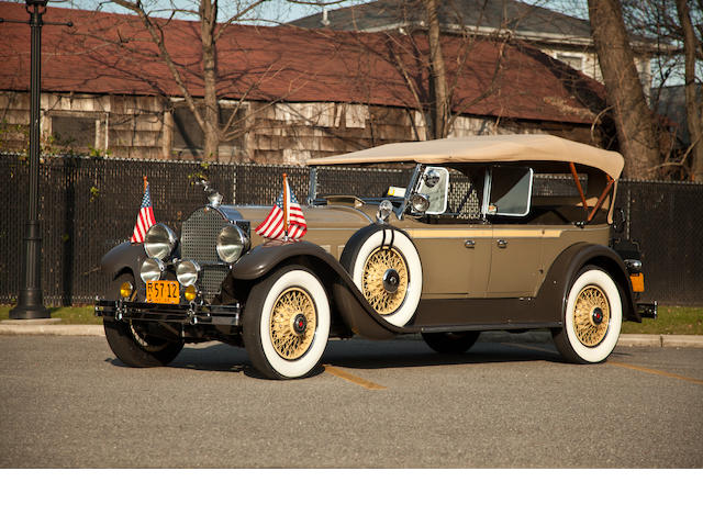 1929 Packard 645 Dual Cowl Phaeton Sedan Convertible   Chassis no. 177660