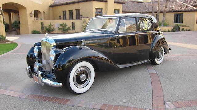 1950 Bentley MKVI  Chassis no. B87LFU Engine no. B293F
