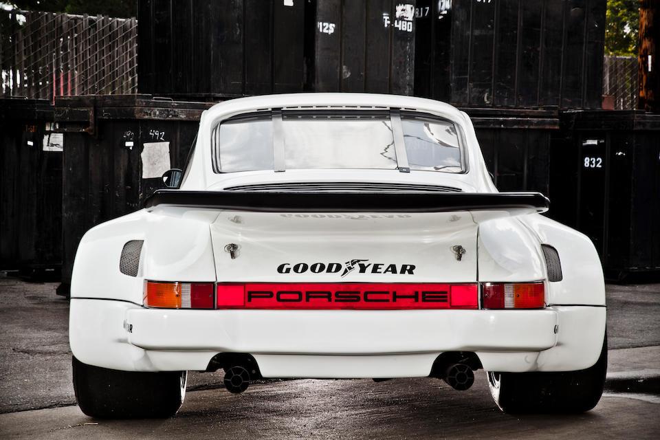 The ex-Ted Hulse Racing, Daytona 24 Hours, 12 Hours of Sebring, Watkins Glen 6 Hours,1977 Porsche 911S/RSR IMSA Racing Coupe  Chassis no. 911 720 0114