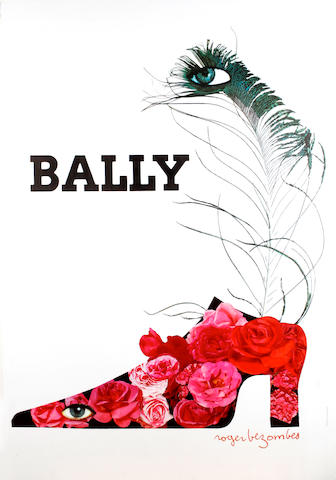 After Andy Warhol (American, 1928-1987); and Roger Bezombes (French, 1913-1994) Chanel #5; Bally; (2)