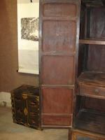 A teilimu tapered cabinet 18th/19th century