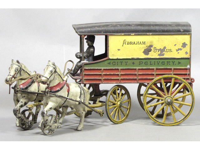 Harris Two-Horse City Delivery Wagon