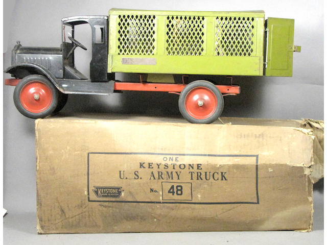 Keystone USA Mail Truck With Separate Box