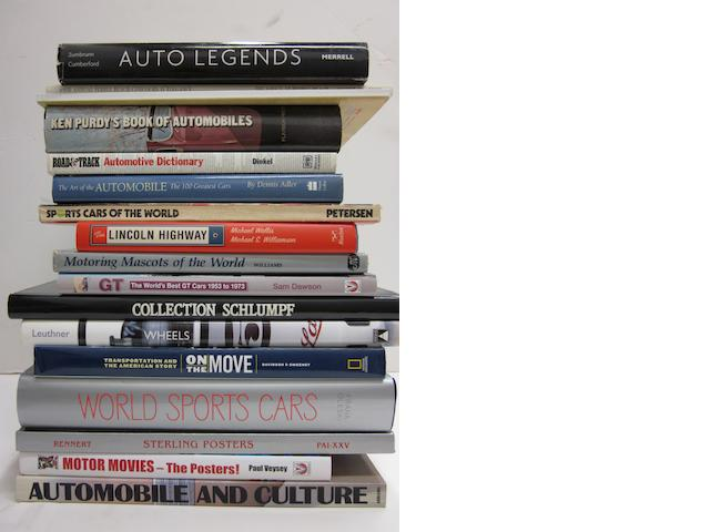 A quantity of motoring titles,