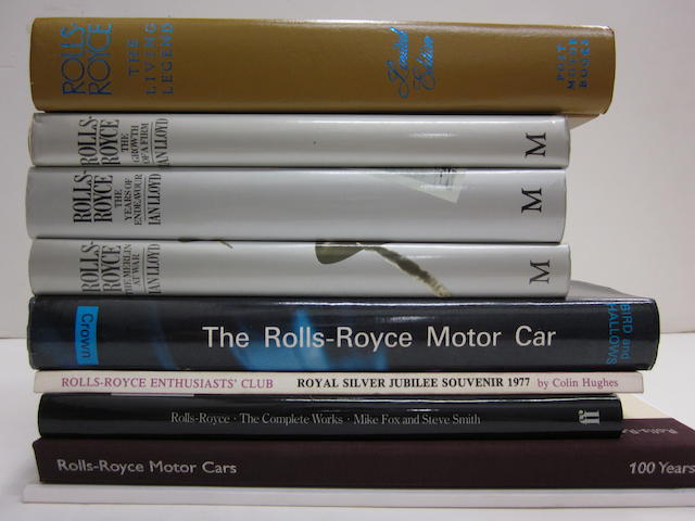 A collection of Rolls-Royce specific titles,