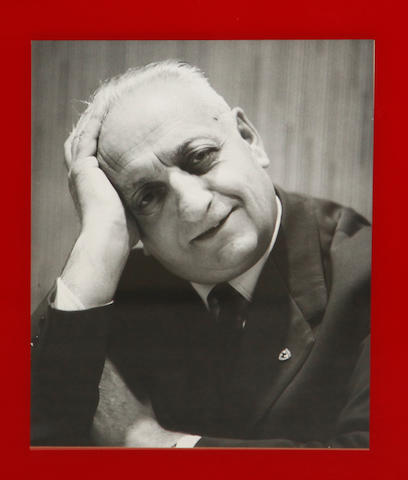 A lot of four Enzo Ferrari images,