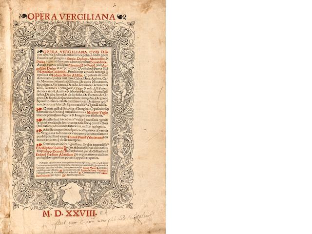 """opera Vergiliana"" 1528"