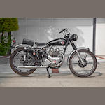 1954 Matchless 550cc G9 Frame no. 015676 Engine no. 54G9B22077