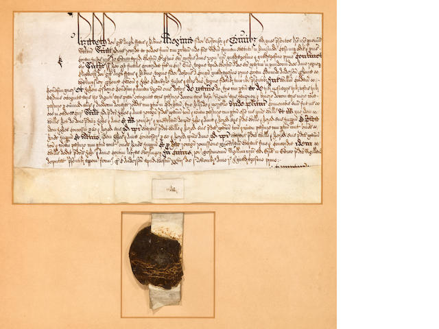 Queen Elizabeth I, Common Pleas document