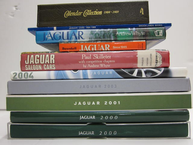 A quantity of Jaguar titles and press kits,