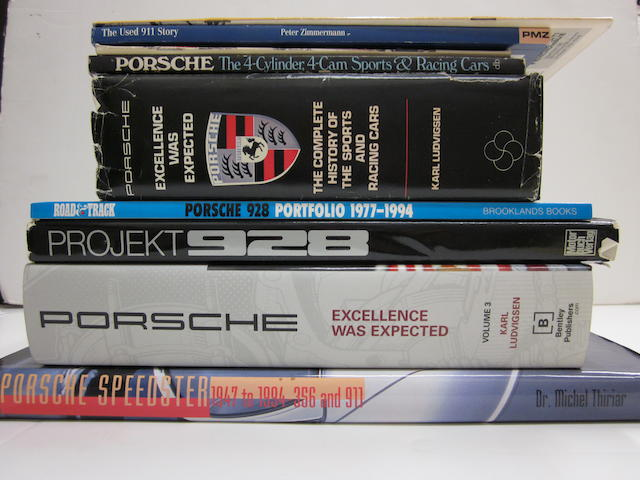 A quantity of Porsche specific titles,