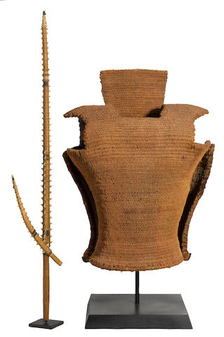 Cuirass and Sword,  Tabiteuea Atol, Gilbert Islands (Kiribati)