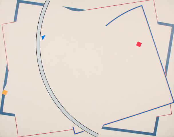 William Conlon (American, born 1941) Untitled, 1974-1975 72 x 90in
