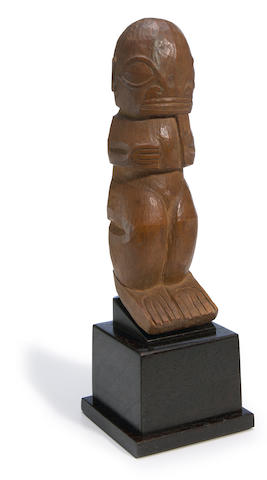 Marquesan Tiki Figure, Marquesas Islands