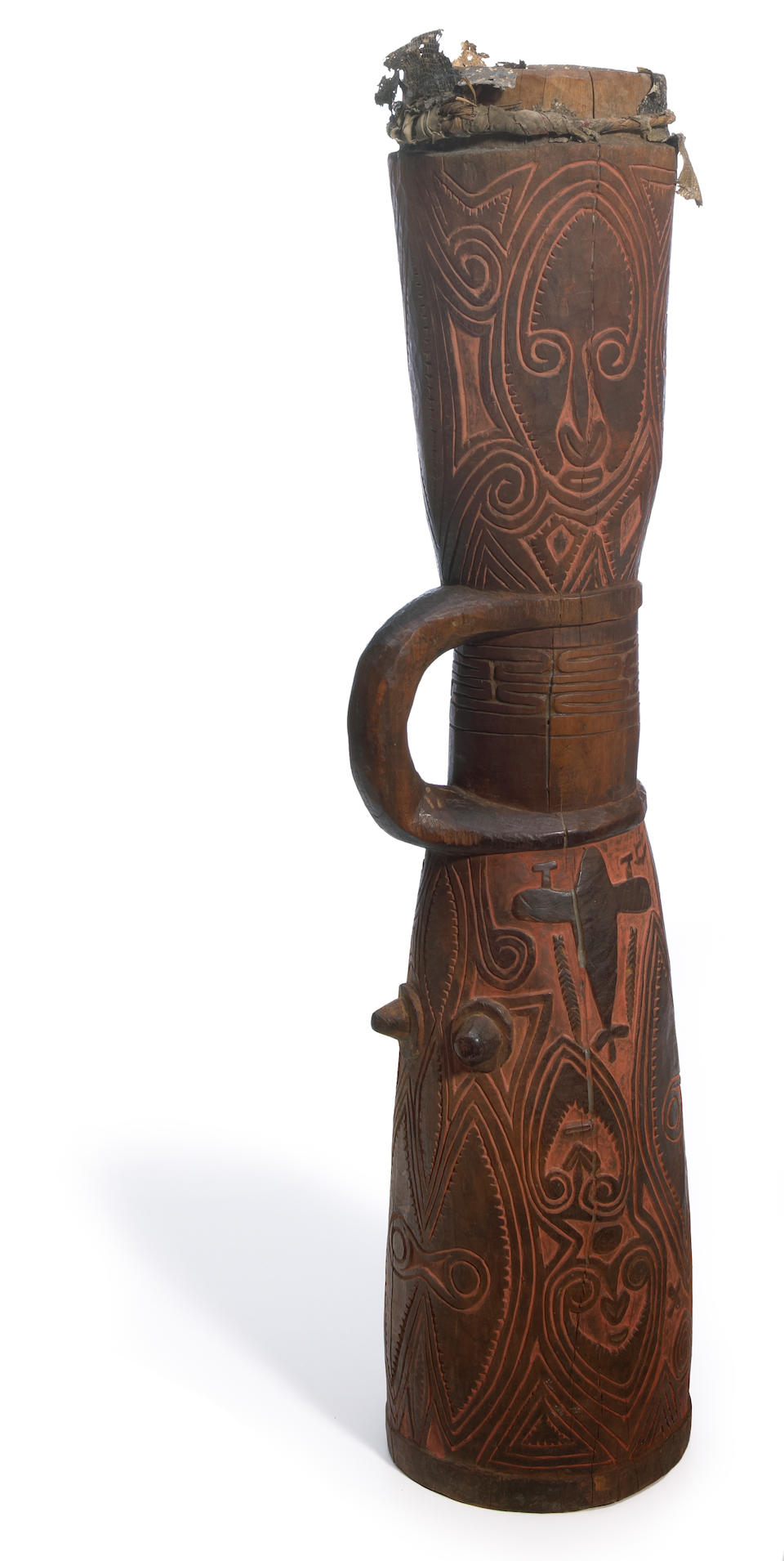 Sepik River or Plains Hand Drum, Papua New Guinea
