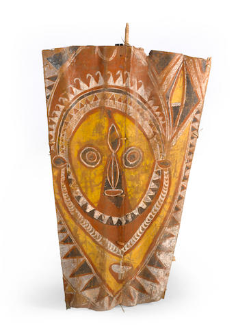 Abelam Painted Panel one face