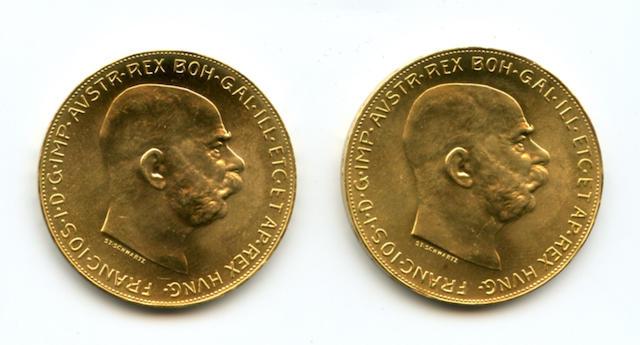 Austria, 100 Coronas, 1915 (2)