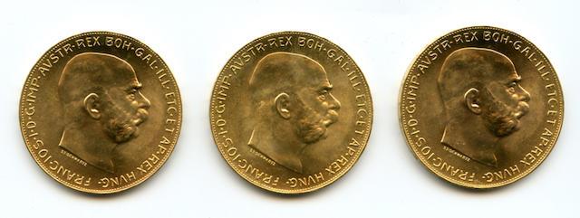 Austria, 100 Corona, 1915 (Restrike) (3)