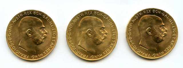 Austria, 100 Coronas, 1915 (3)