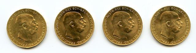 Austria, 100 Corona, 1915 (Restrike) (4)