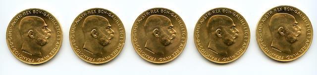 Austria, 100 Corona, 1915 (Restrike) (5)