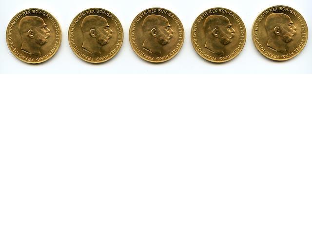 Austria, 100 Coronas, 1915 (5)