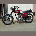 1968 BSA B44 Shooting Star Frame no. B44B229155 Engine no. B44B229155