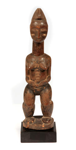 Baule Female Figure  Ivory Coast