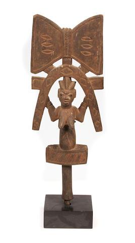 Yoruba Shango Staff, Nigeria