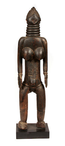 Mende Female Figure  Sierra Leone
