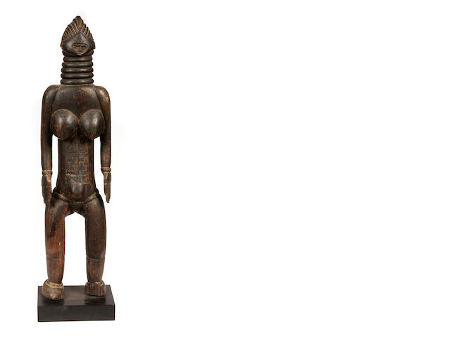 Mende Female Figure, Sierra Leone