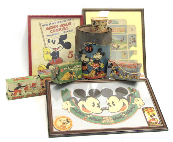 (Paperiana) Early Mickey Mouse Ephemera