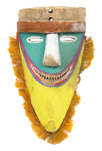 Tolai Dance Mask, Gazelle Peninsula, New Britain