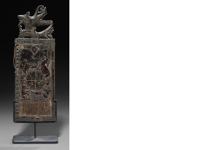 Rare Dayak Ritual Calendar/Oracle Tablet, Borneo Island