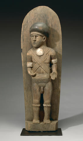Large Architectural Figural Ornament, Malaita Island, Solomon Islands